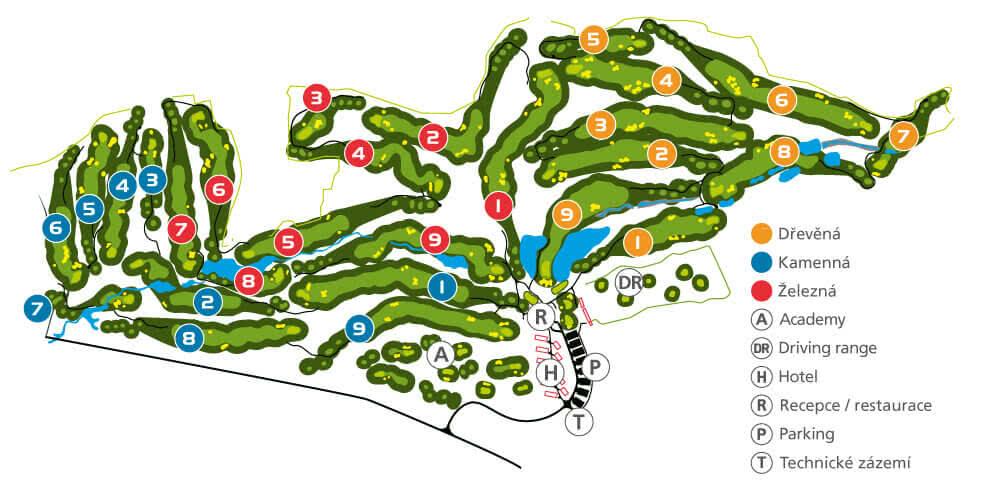 Kaskáda Golf Resort Brno