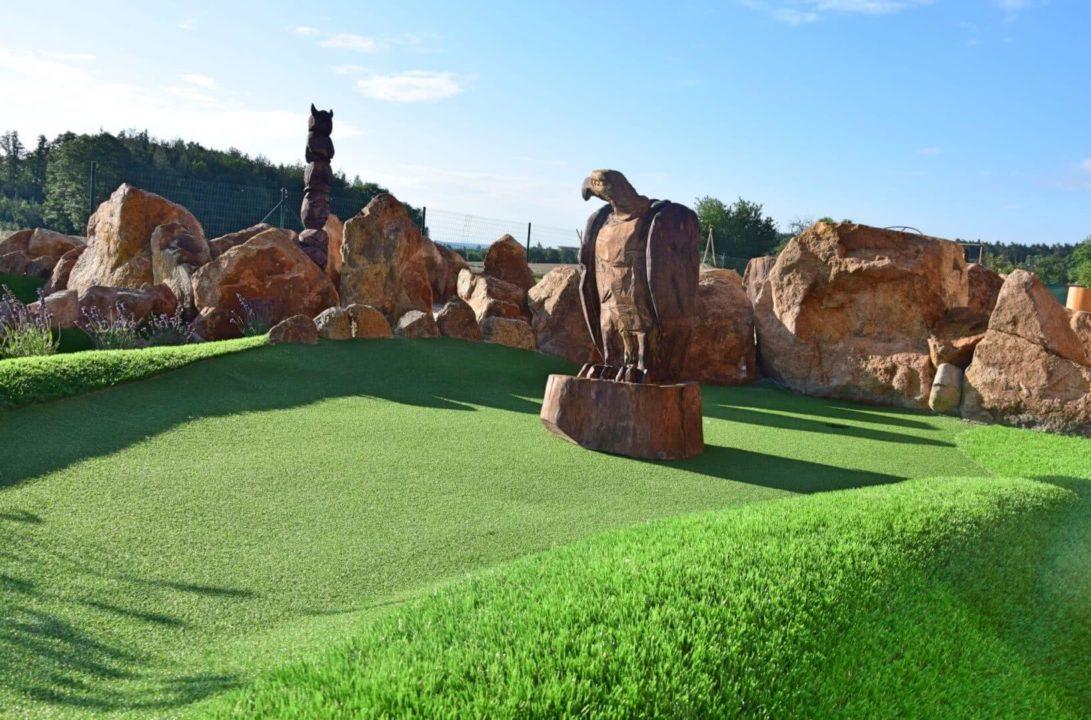 Adventure golf Horní Bezděkov a Tyrolská Hospůdka