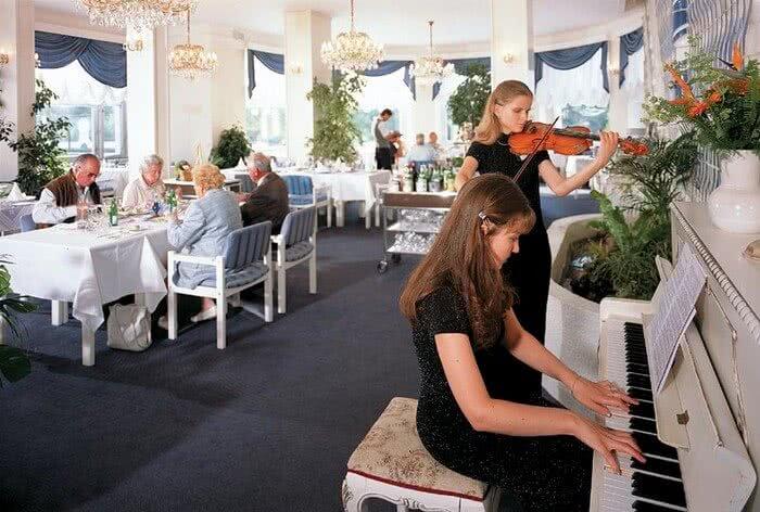 Restaurace Parkhotel Golf Mariánské Lázně