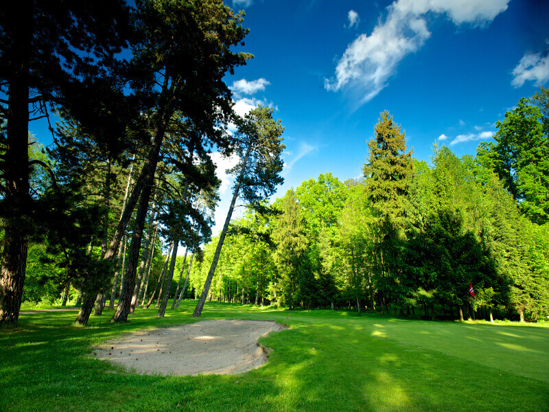 Queens Park Golf Club Myštěves