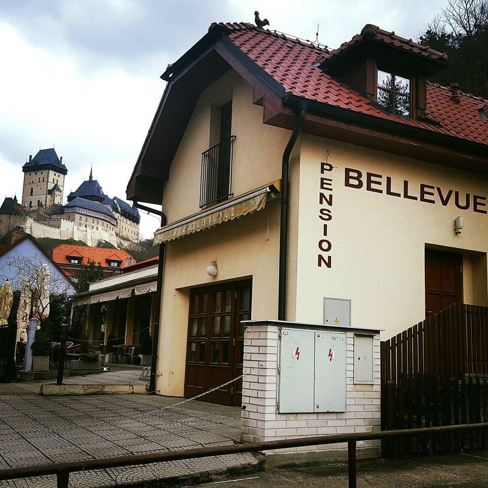Penzion Bellevue - Vyhlídka Karlštejn