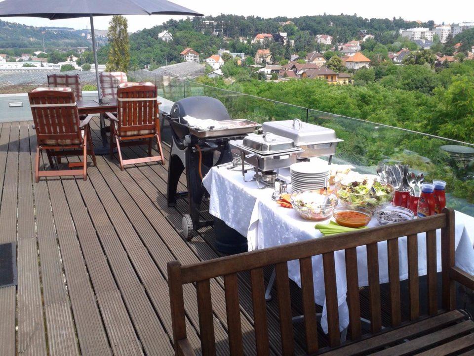 Chorvatská rybí restaurace Deco