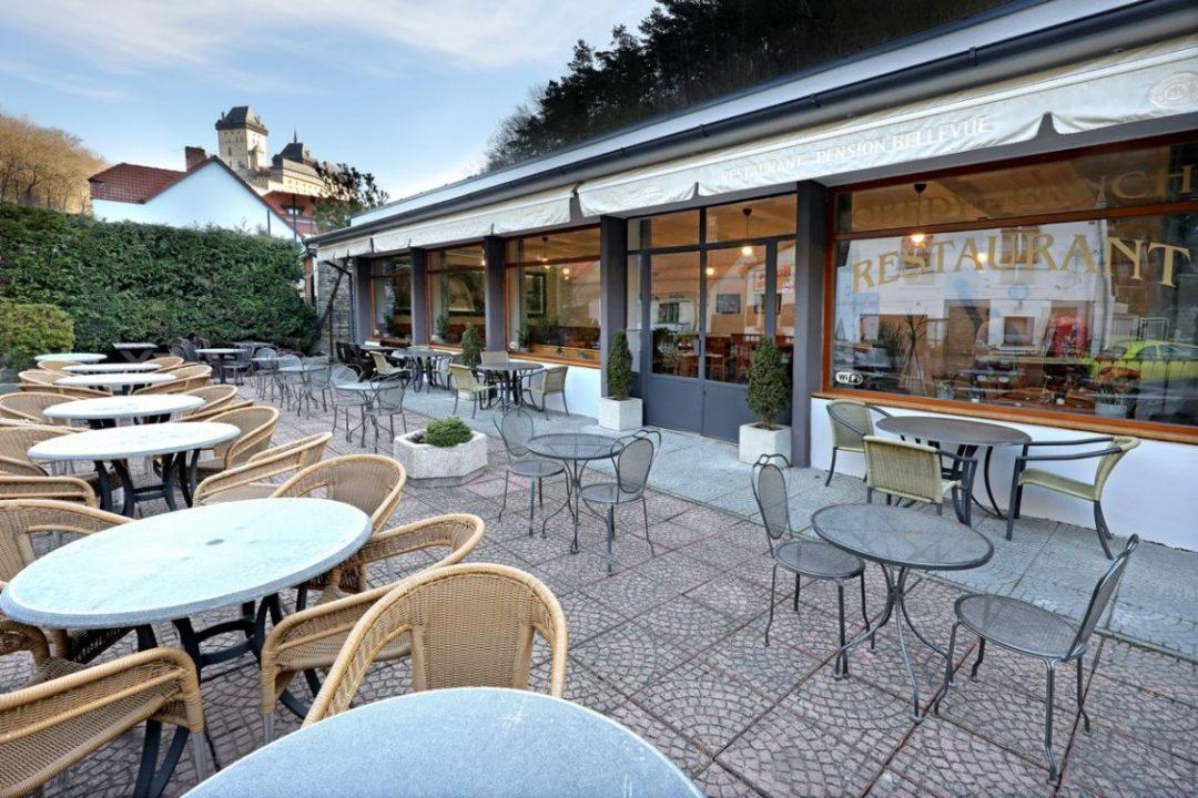 Restaurace Penzion Bellevue - Vyhlídka