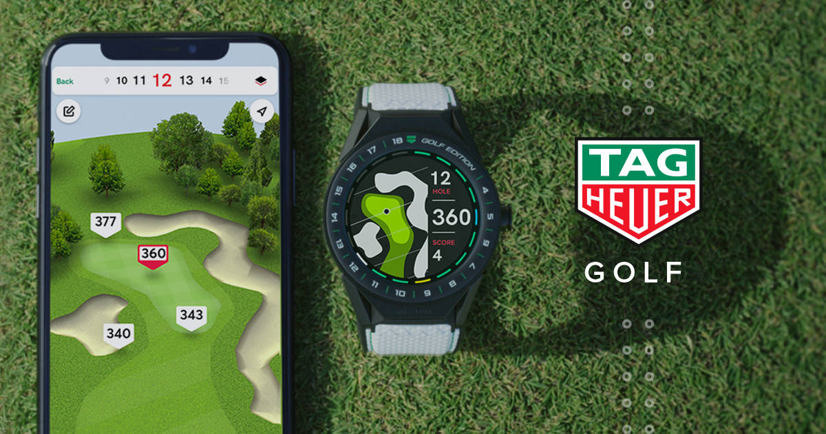 Hodinky TAG Heuer Connected Modular Golf Edition