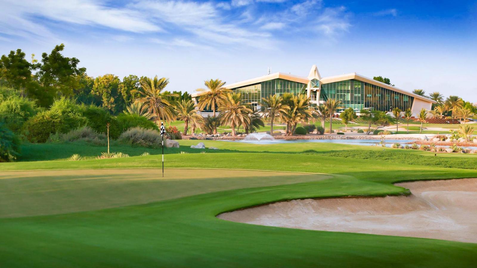 Abu Dhabi Golf Club - Spojené Arabské Emiráty