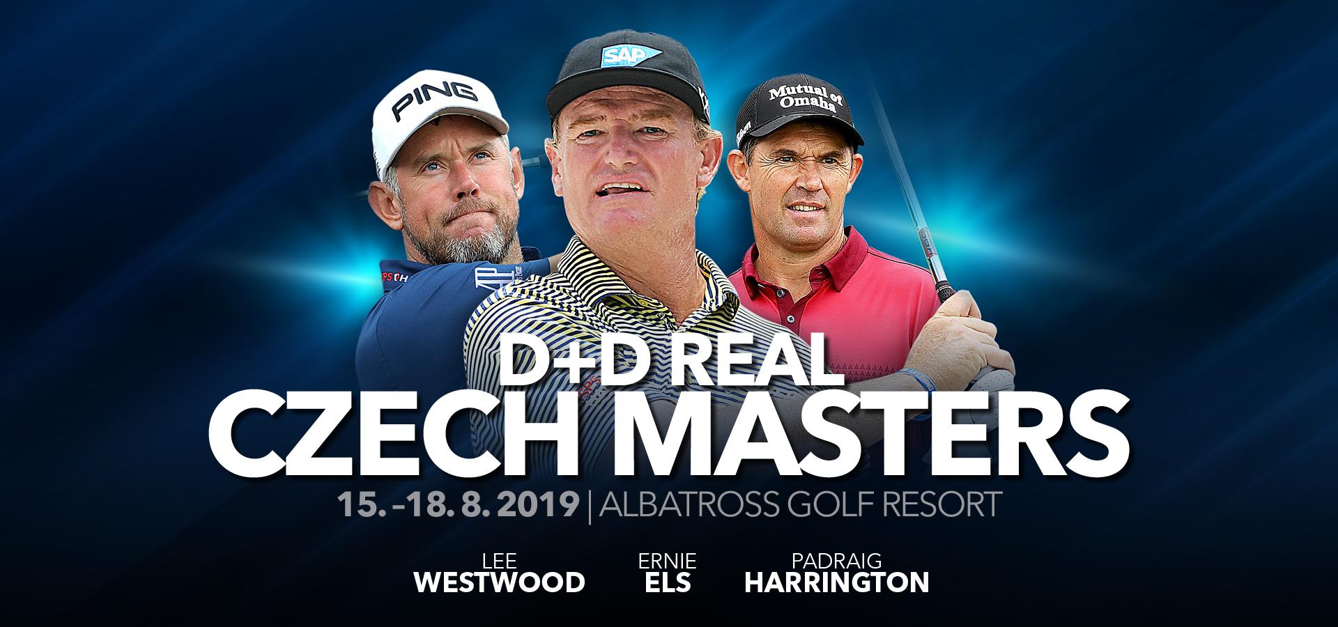 D+D REAL Czech Masters 2019 - Největší golfový turnaj v ČR na Albatrossu!