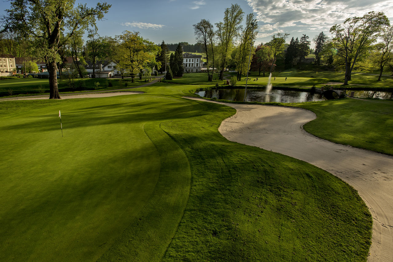 Golf Resort Konopiště, 18 jamkové golfové hřiště Radecký